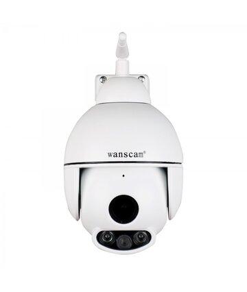 IP P2P мини камера уличная 1080P Wanscam Беcпроводная Поворотная Onvif K54